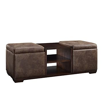 Wondrous Amazon Com Stylistics Storage Ottoman 58 X 22 X 20 Gmtry Best Dining Table And Chair Ideas Images Gmtryco