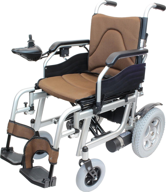 ケアテックジャパン 電動車椅子 ハピネスムーブ CE20-HSU-12 (ブラウン) B07717W1G8 ブラウン ブラウン