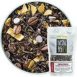 Tiesta Tea 可可摩卡,提拉米苏咖啡红茶,30 份,袋装1.8盎司/51克,高咖啡因,散叶红茶能量混合茶饮