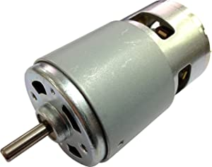 High Torque Permanent Magnet DC 12V High Speed 12000 RPM Brush Small DC Motor