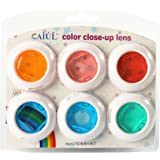 CAIUL Instax Mini Color Close Up Lens Filter Set for Fujifilm Instax Mini 8 8+ 9 7s (6 pcs)