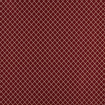 Amazon Com Beige On Burgundy Small Diamond Pattern Damask