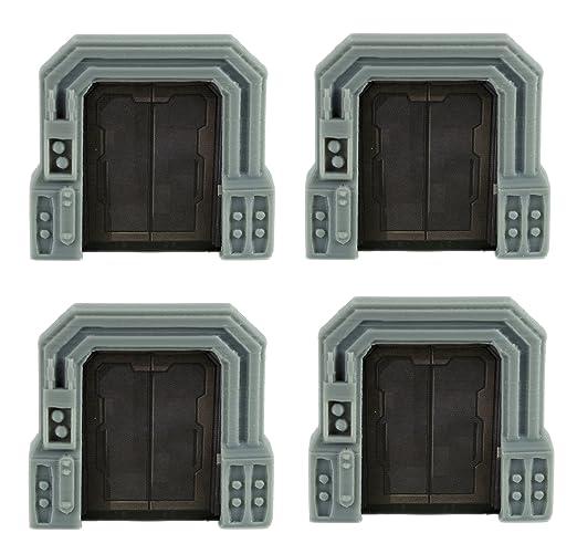 Amazon.com Star Wars Imperial Assault Custom Door Terminal \u0026 Crate Token 20 Piece Set by Loaded Dice Designs Toys \u0026 Games  sc 1 st  Amazon.com & Amazon.com: Star Wars Imperial Assault Custom Door Terminal ...