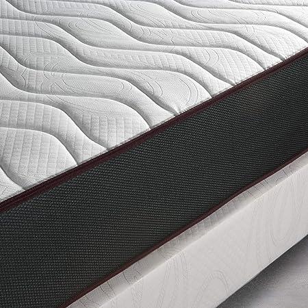 Home Heavenly® - Colchón viscoelastico Matt Reversible y Transpirable 16 cm de H (90 X 190 cm)