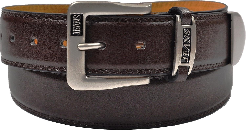 Ossi Hombres cintur/ón de 38mm para Jeans tama/ños 81cm 152cm