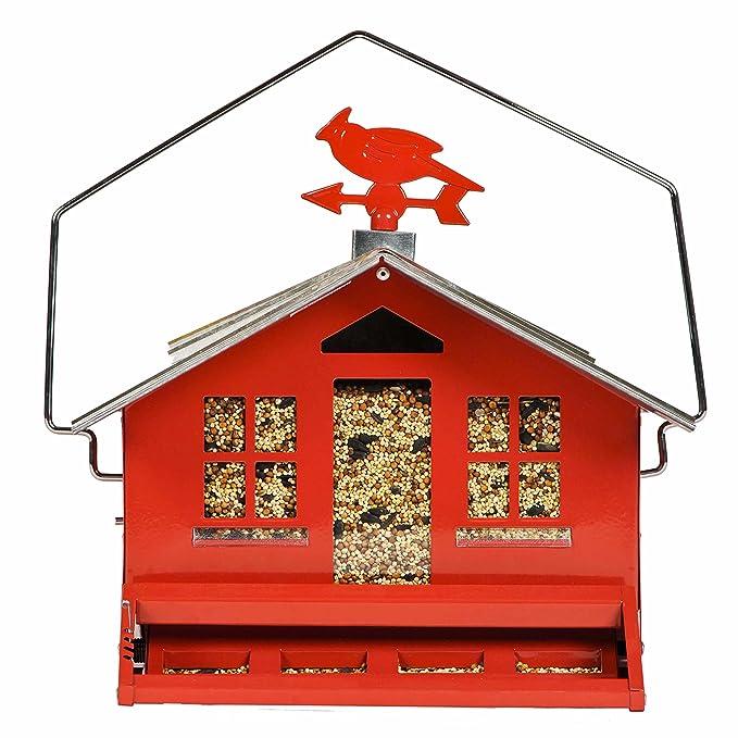 Opus 338 Comedero para pájaros a prueba de ardillas Casa de campo