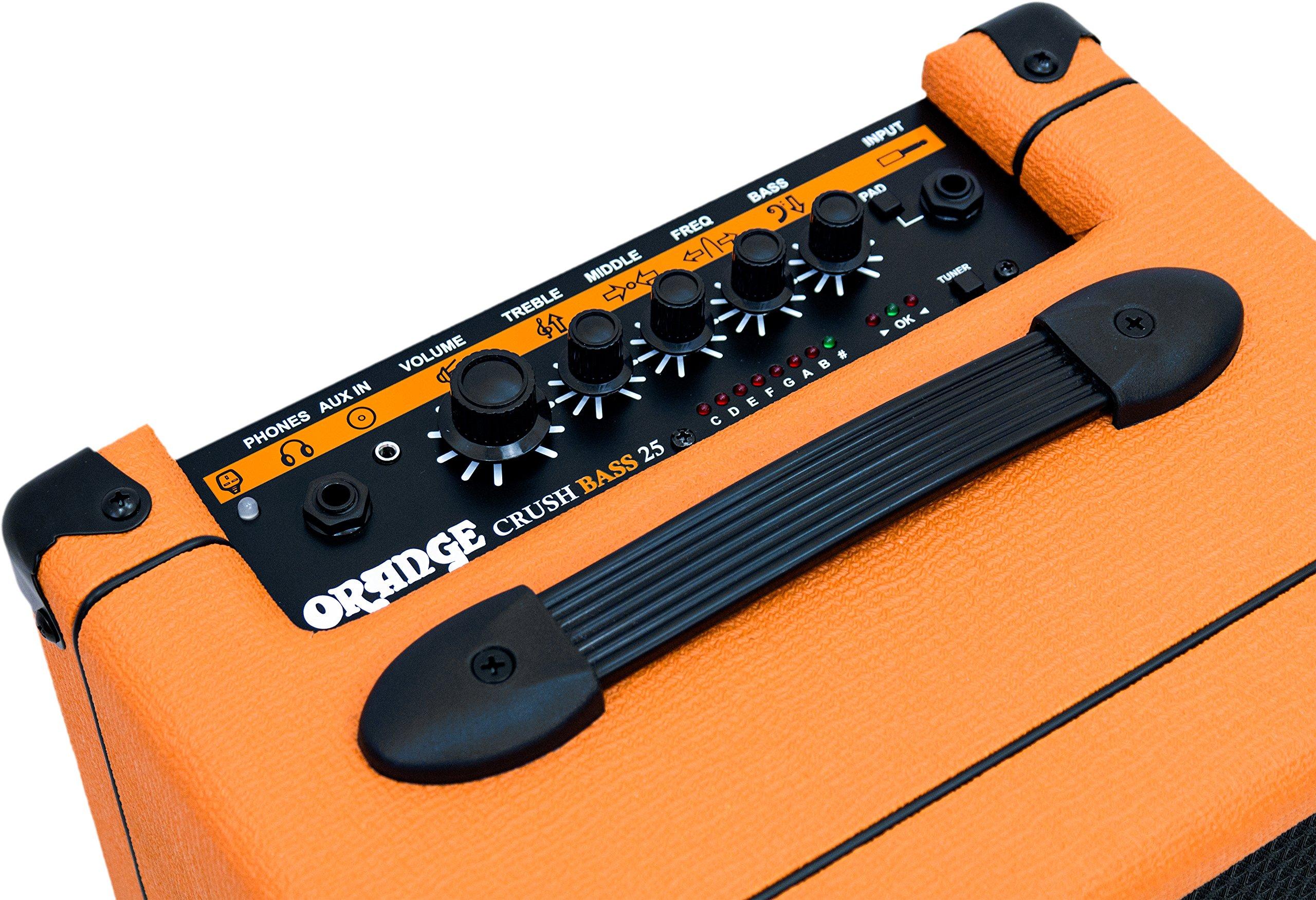 Orange Crush Bass 25W Bass Guitar Combo Amp, Orange by Orange Amps (Image #5)
