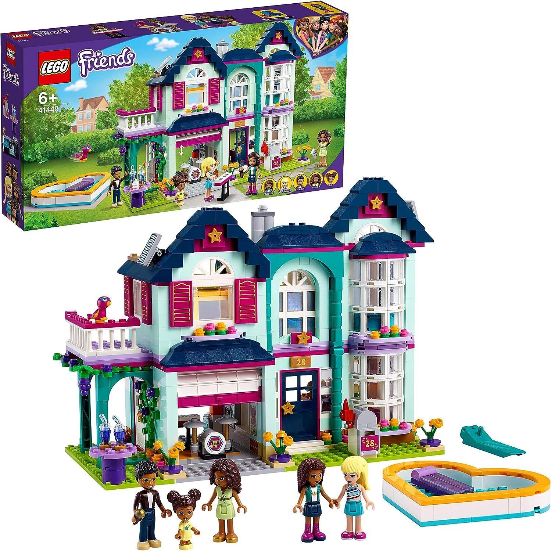 レゴ(LEGO) フレンズ アンドレアのおうち 41449