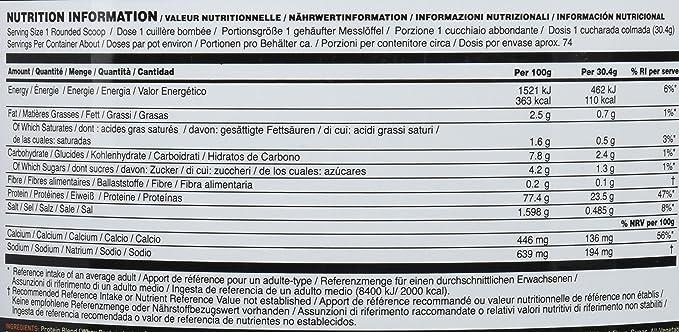 Optimum Nutrition Gold Standard 100% Whey Proteína en Polvo, Galletas y Crema - 2270 g: Amazon.es: Salud y cuidado personal