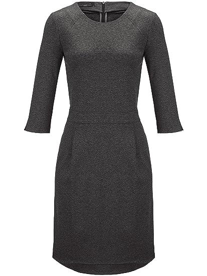 Kleid grau jersey