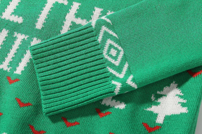 Camii Mia Big Girls Funny Xmas Pullover Crewneck Ugly Christmas Sweater