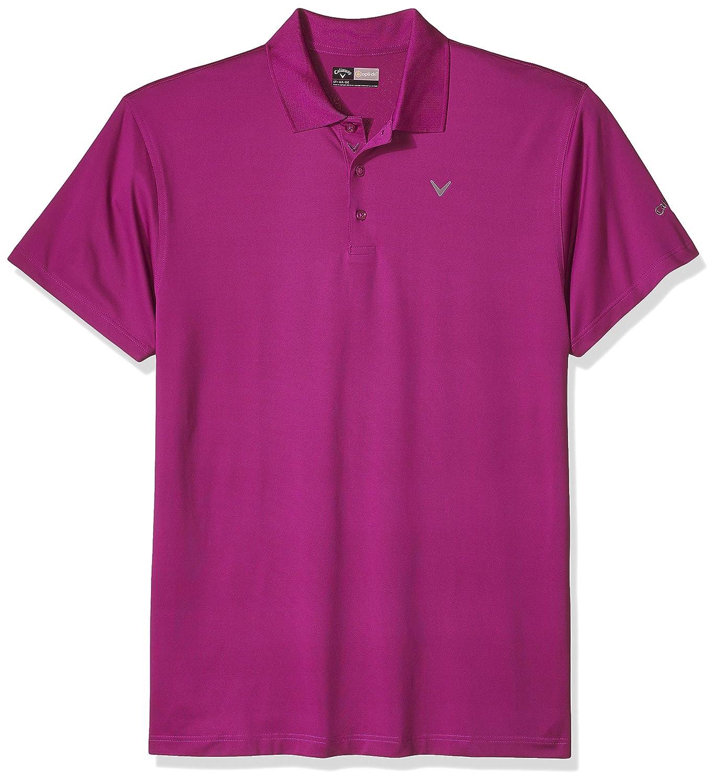 Callaway Herren Big & Tall Opti Short Sleeve Solid Polo