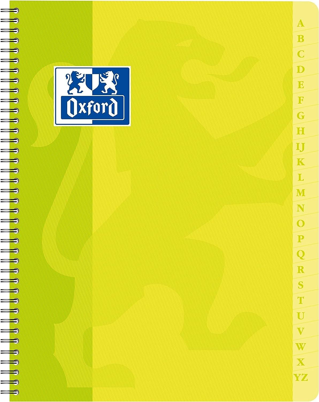 farblich sortiert Oxford 100101192 Abdeckschienen f/ür DIN A4 Format