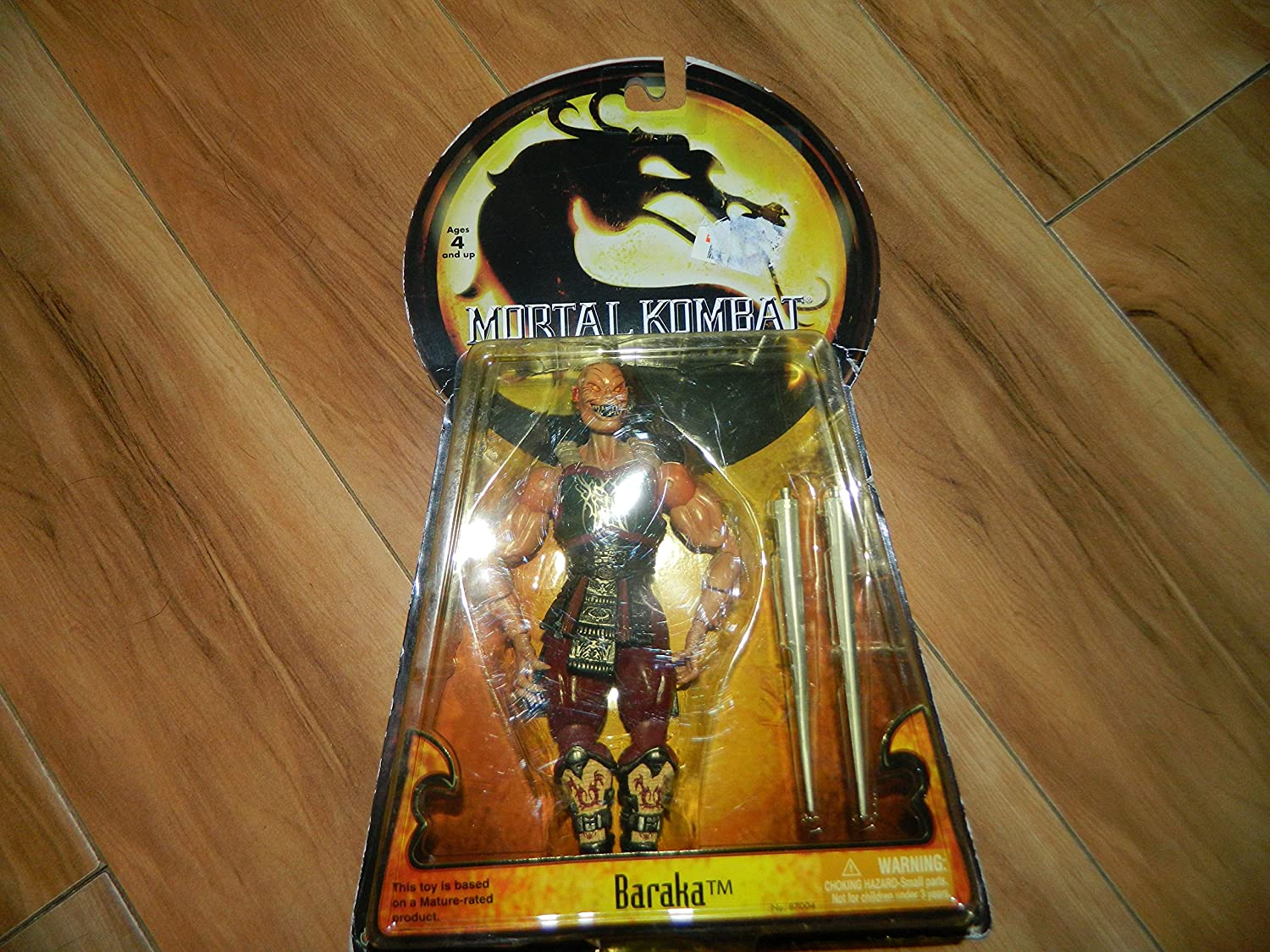 Mortal Kombat Deception Series 1 Action Figure Baraka by ...