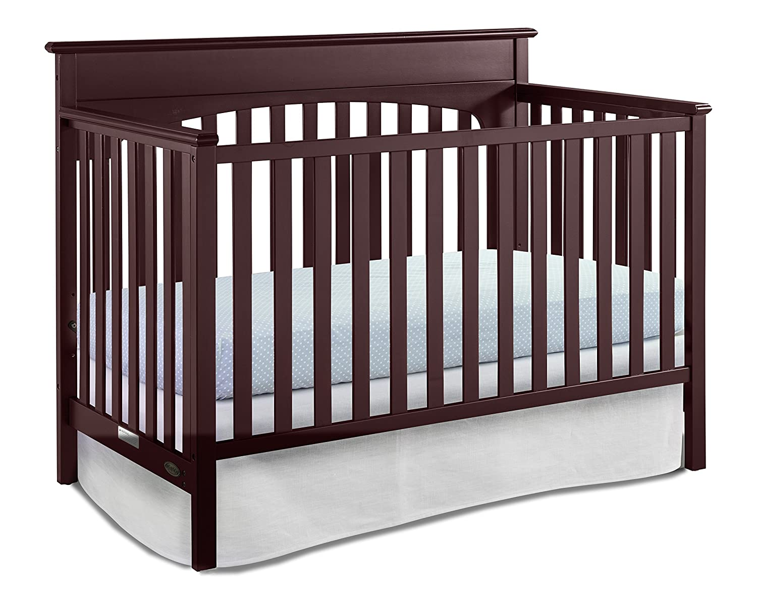 Graco Lauren Congreenible Crib, Cherry