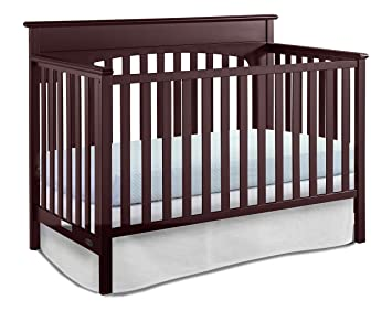 Charmant Graco Lauren Convertible Crib, Cherry, Easily Converts To Toddler Bed Day  Bed Or Full