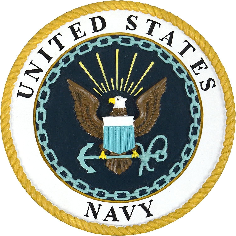 Red Carpet Studios Military Plaque, Navy