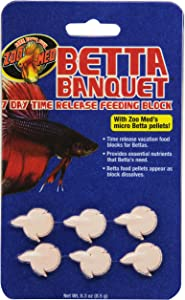 Zoo Med Laboratories AZMBB7 Betta Banquet Blocks