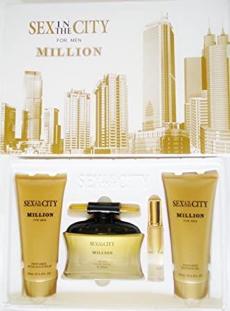 Amazoncom Sex In The City Million For Men Eau De Parfum 100 Ml