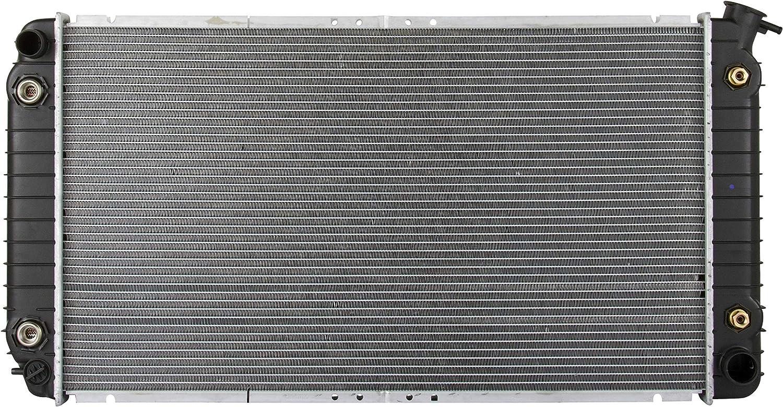4.9L, V8 for 91-93 Cadillac DeVille Left Side Radiator Cooling Fan
