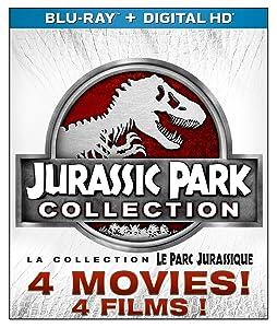 Jurassic Park 1-4 Collection (Blu-ray 3D + Blu-ray + Digital HD) (Blu-ray)
