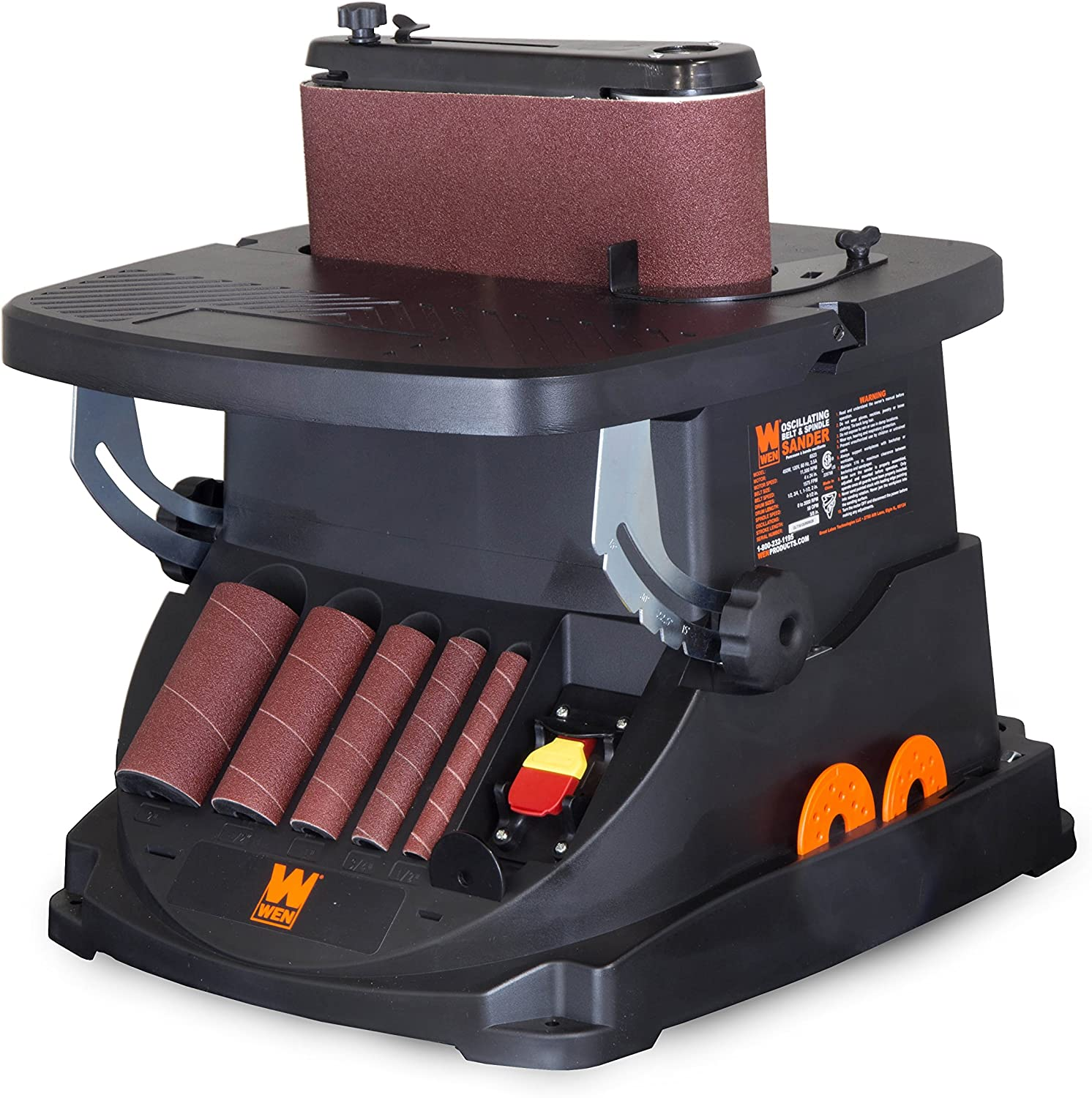 WEN 6524 Oscillating Belt and Spindle Sander