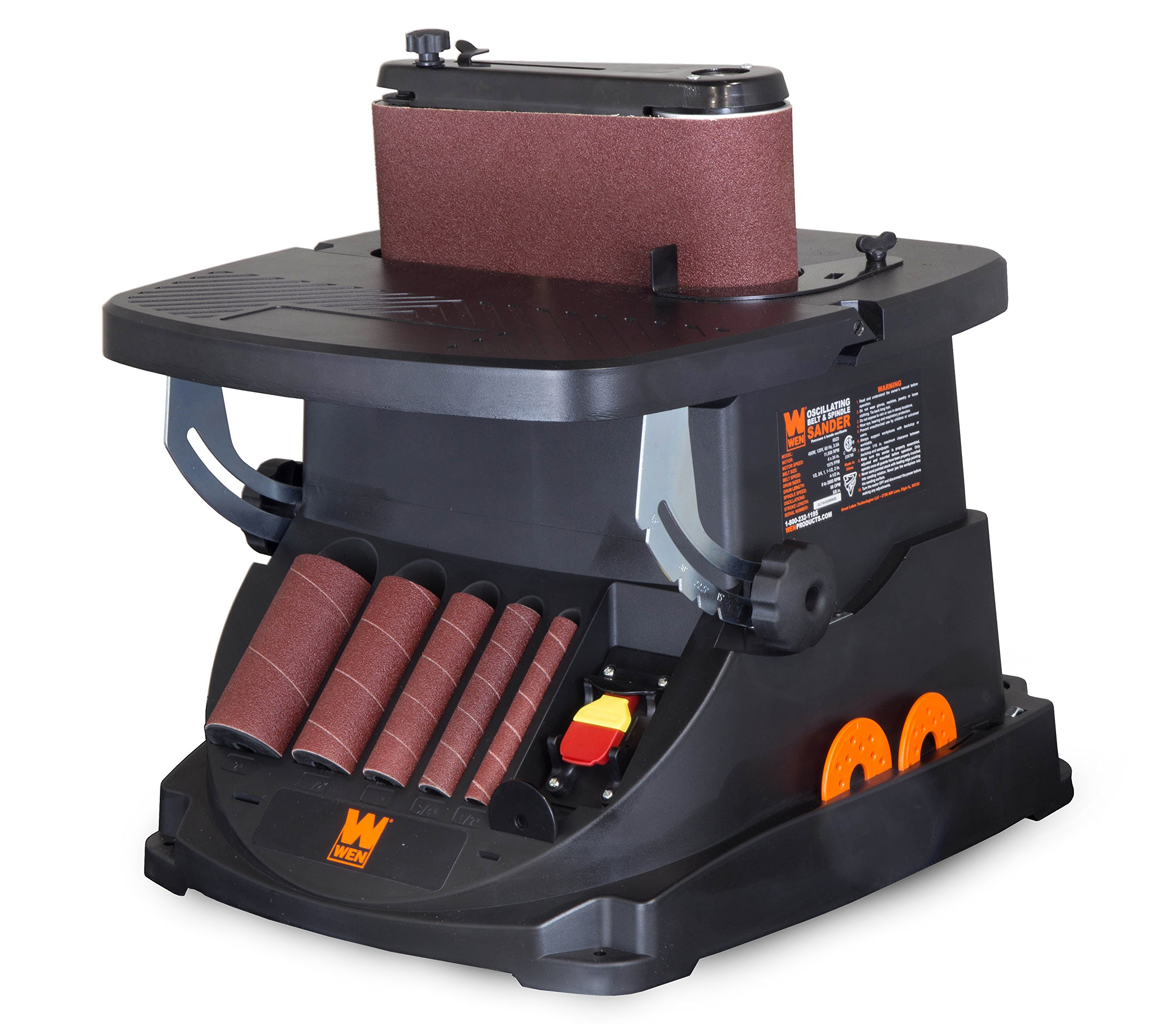 WEN 6523 Oscillating Belt & Spindle Sander