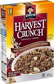 Quaker Harvest Crunch Quaker Harvest Crunch - Dark Chocolate, Cranberry & Almond 550g, Dark Chocolate Cranberry & Almond, 550