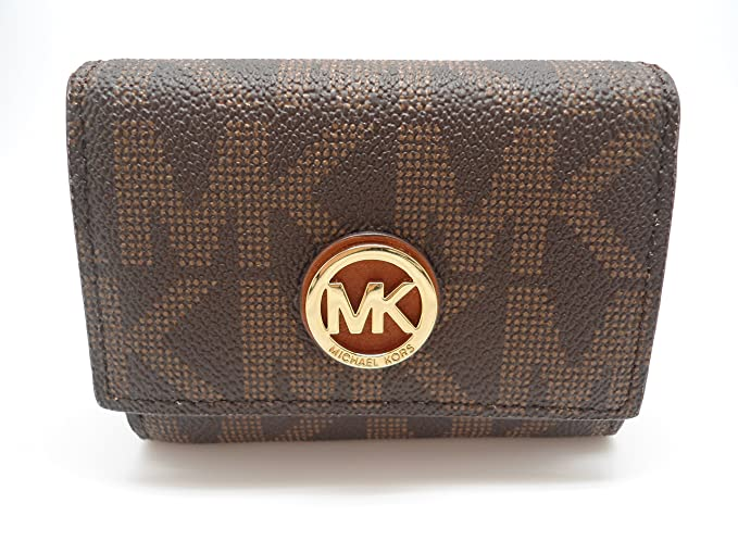7a5228153c3a Image Unavailable. Image not available for. Color  Michael Kors fulton snap  card case