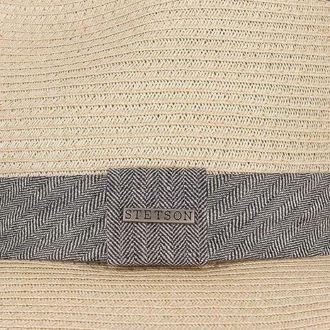 c115209a Stetson Reedley Toyo Bogart Hut Men ´s hat Summer hat (XXL/62-63 - Nature):  Amazon.co.uk: Clothing