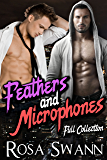 Feathers and Microphones [Full Collection]: Gay Angel and Rock Star Romance
