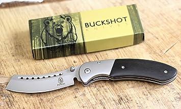 Amazon.com: Wartech Buckshot - Cuchillo de bolsillo clásico ...