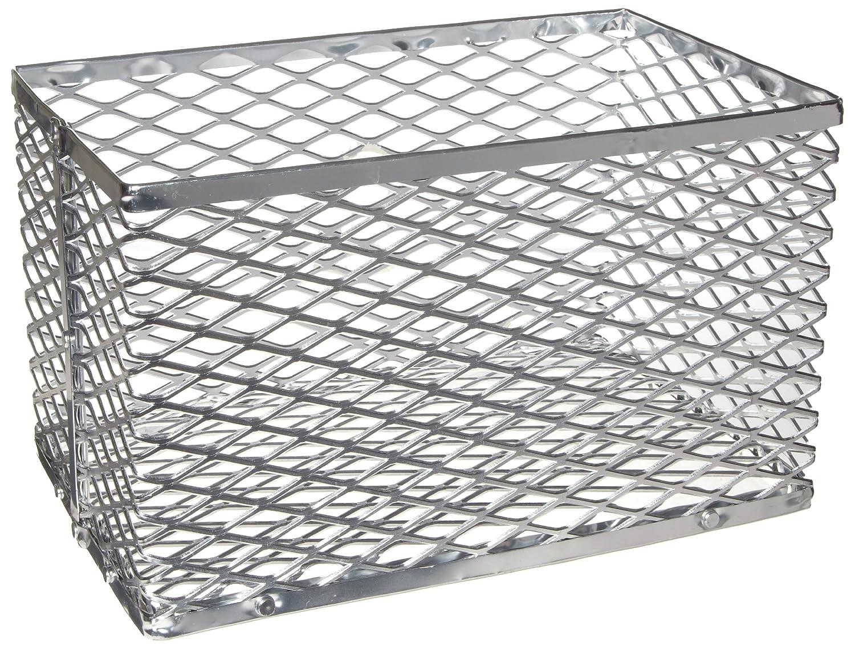 Heathrow Scientific HD20341A Test Tube Basket, Aluminum, 152 mm Length x 152 mm Width x 152 mm Height, Small, Blue HS20341A