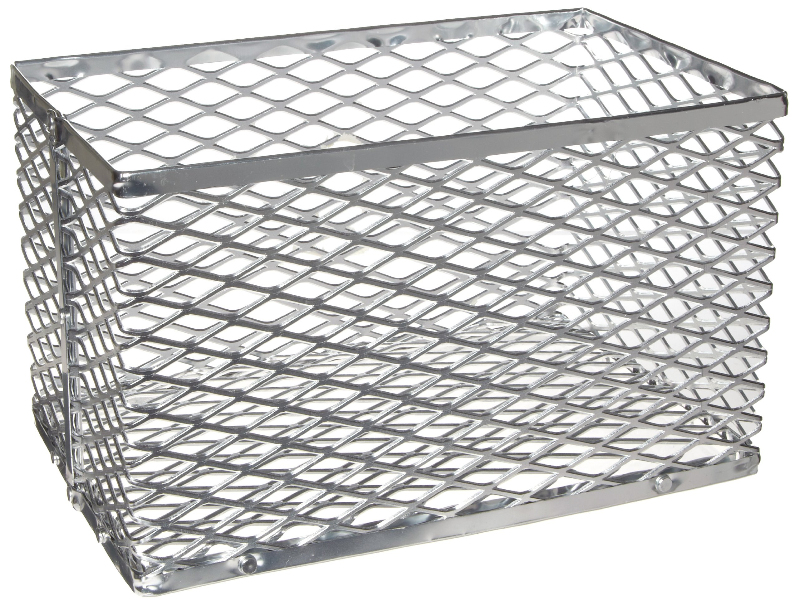 Heathrow Scientific HD20341C Aluminum Large Test Tube Basket, 332mm Length x 228mm Width x 178mm Height
