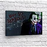 Amazon.com: DARK KNIGHT POSTER Heath Ledger Batman JOKER