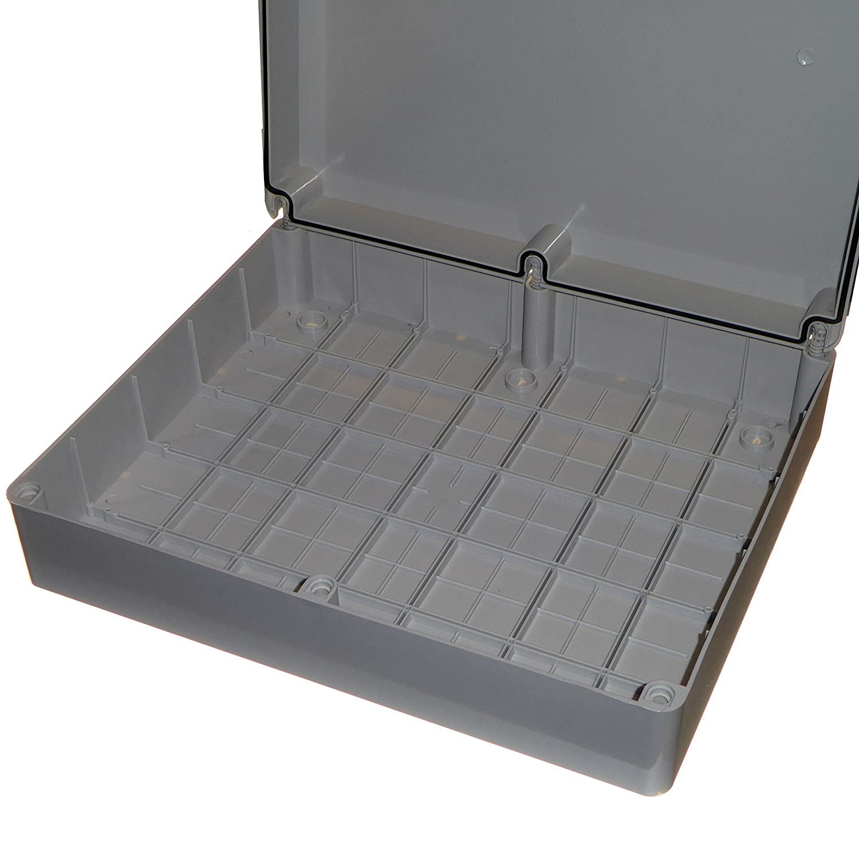PVC Adaptable IP56 Junction Box 460 x 380 x 120mm Outdoor Waterproof Enclosure