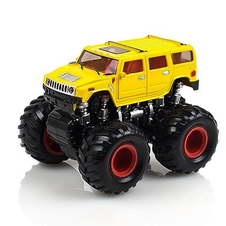 Amazon.com: Beast Runners Monster Wheels – Off-Road Race Car – 4x4 ...