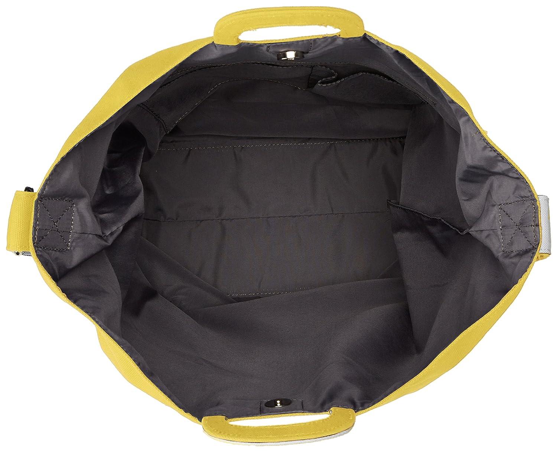 1edfce79a2ae Amazon   [アネロ] ショルダーバッグ コットンキャンバスロゴ 2WAYトートバッグ イエロー   anello(アネロ)   ショルダーバッグ