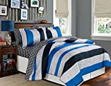 U.S. Polo Assn. 5-Piece Bold Stripe Bed in a Bag
