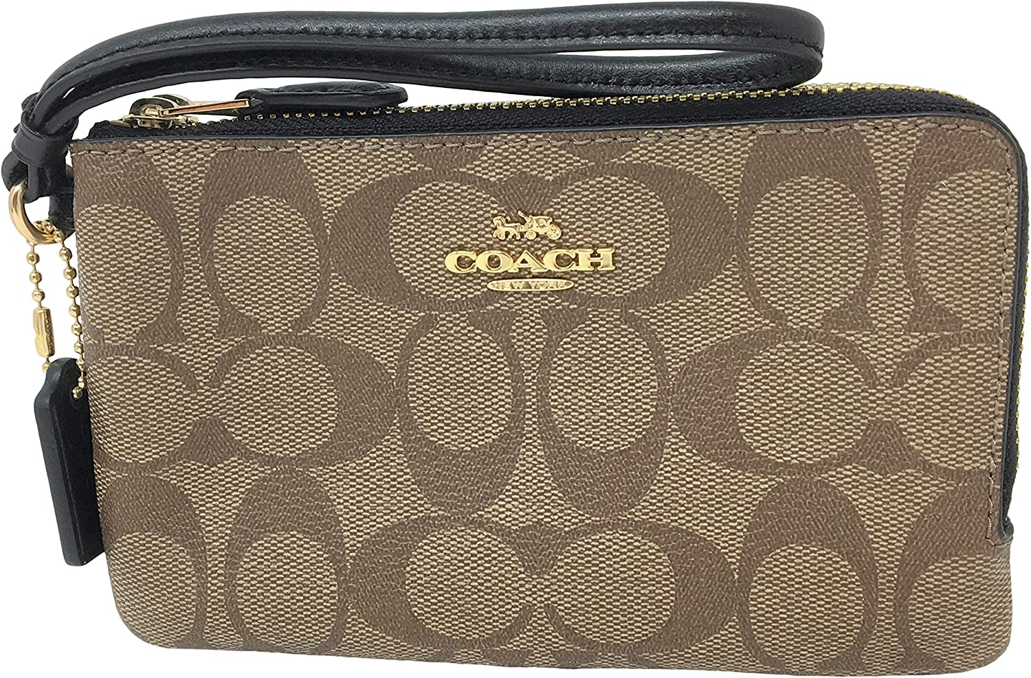 Coach Signature PVC Double...