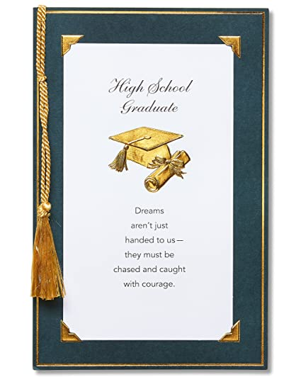 Amazon american greetings high school graduation card with american greetings high school graduation card with tassel m4hsunfo