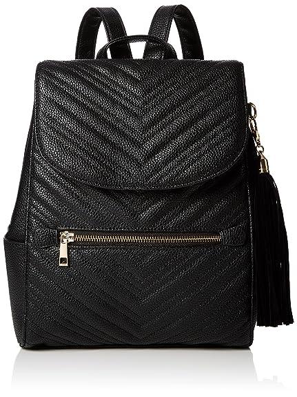 Womens Quilt Backpack Handbag Miss Selfridge l5HQRAui