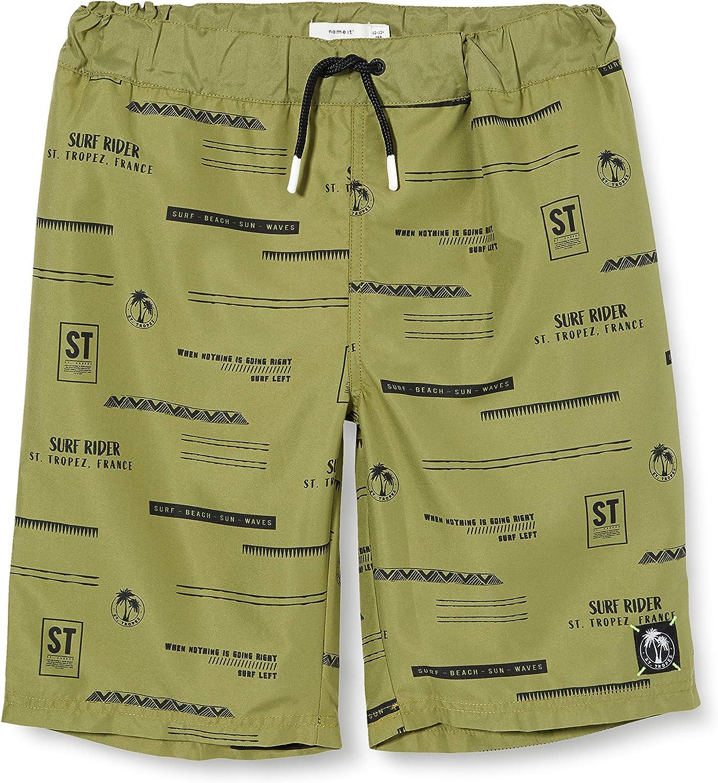 NAME IT Jungen Nkmzakirs Shorts Box Badehose