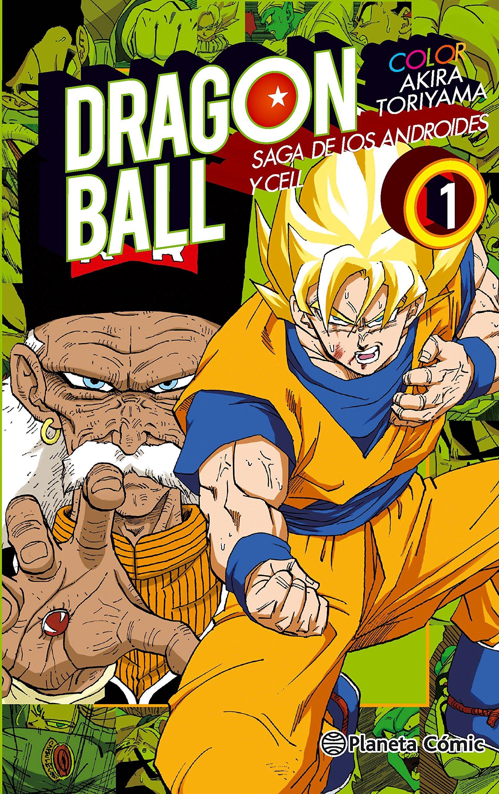 Dragon Ball Color Cell Nº 0106 Manga Shonen Amazones