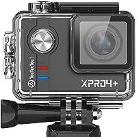 TecTecTec XPRO4+ Caméra Sport 4K Ultra HD Camera Sport étanche WiFi Cameras de Sport et Action Caméra Embarquée WiFi Full HD HD 4K