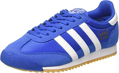 adidas Originals Adidas Dragon OG Bb1269, Baskets Homme, Bleu (BlueFootwear WhiteGum 0), 44 EU