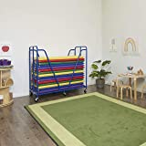 ECR4Kids Mobile Rest Mat Storage Trolley with