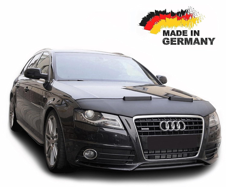 Protezione Cofano A4 B8 A5 8T Copertura Cofano Car Bra Auto NERO Front Maschera Bonnet Tuning Autosattlerei Roganov