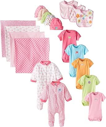 Amazon.com: Gerber Baby-Girls Newborn Girl 19 Piece