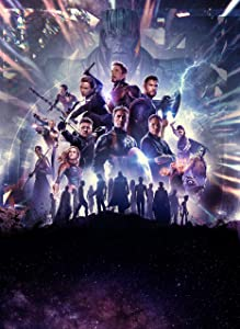 Avengers Endgame Movie Poster 24x36 Inch (Glossy Photo Paper) Wall Art Portrait Print - Chris Evans - Brie Larson - Robert Downey Jr. - Scarlett Johansson - Chris Hemsworth